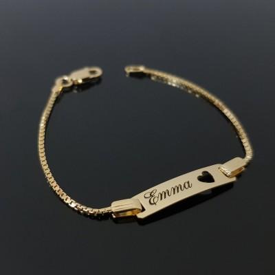 Custom Baby Name Bracelet