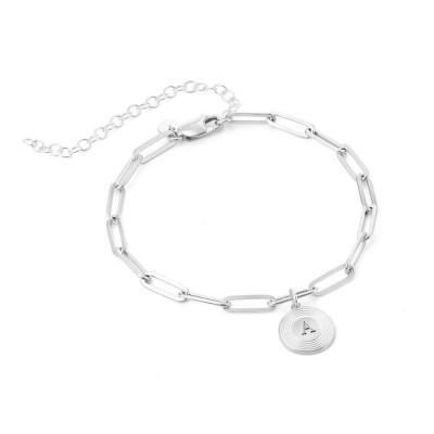 Odeion Initial Link Chain Bracelet