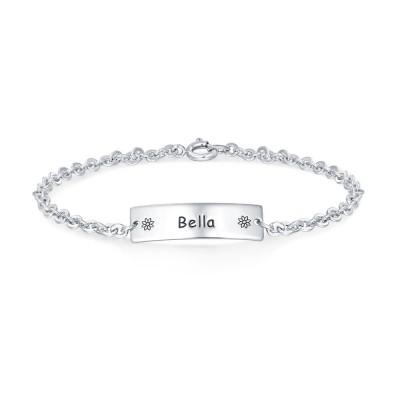 Custom Baby Name Bracelet for Gift