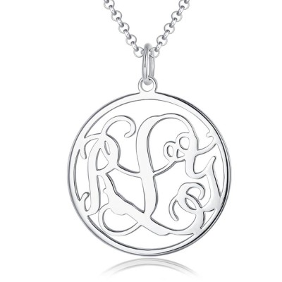 Personalize Monogram Name Necklace