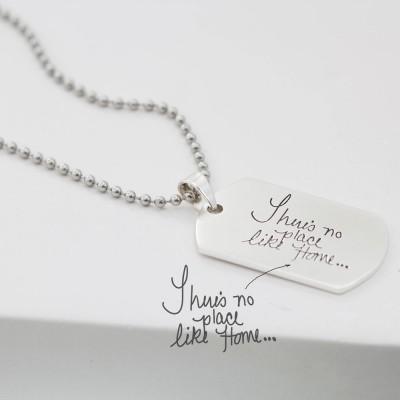Best Gift For Him   Custom Handwriting Keepsake