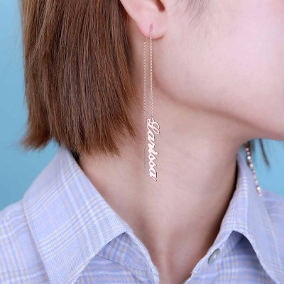 Personalized Name Earrings
