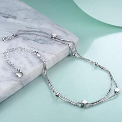 Sterling Sliver Boho Beach Adjustable Ankle/Bracelet