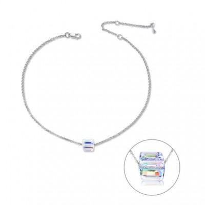 Anklet Bracelet With Crystal