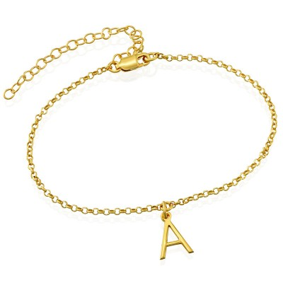 Personalized Anklet With 1-10 Initials