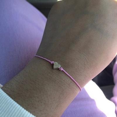 First Day of Pre-K School Bracelet Matching Bracelets Heart Bracelets