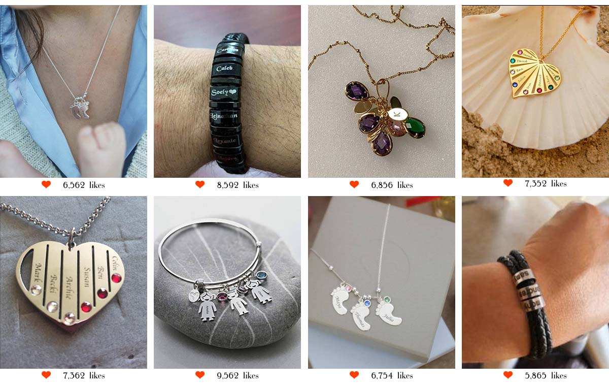 adorlla Personalised Jewelry